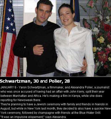Purported John Kerry Mistress Alexandra Polier Gets Married