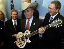 mayor mike bloomberg country music awards