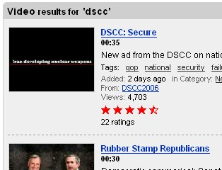 Democratic Senatorial Campaign Committee dscc video secure security