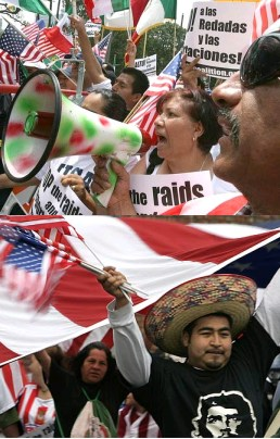 illegal immigration rally 2007