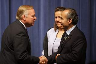 jim cahill meets mexican president