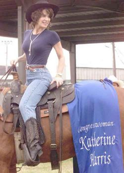 katherine harris riding horse