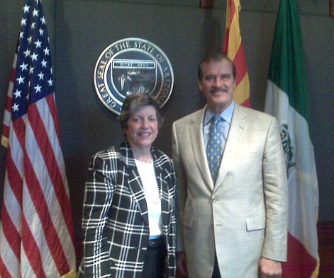 janet napolitano vicente fox mexico immigration