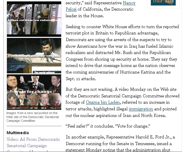 new york times article on dscc secure video