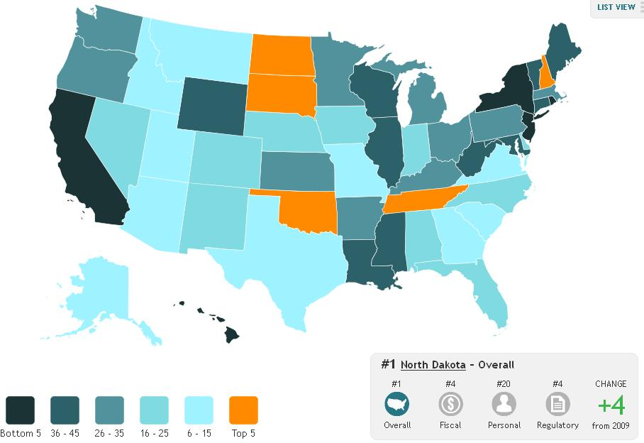 freedom in the 50 states freedom has a big cost koch mercatus